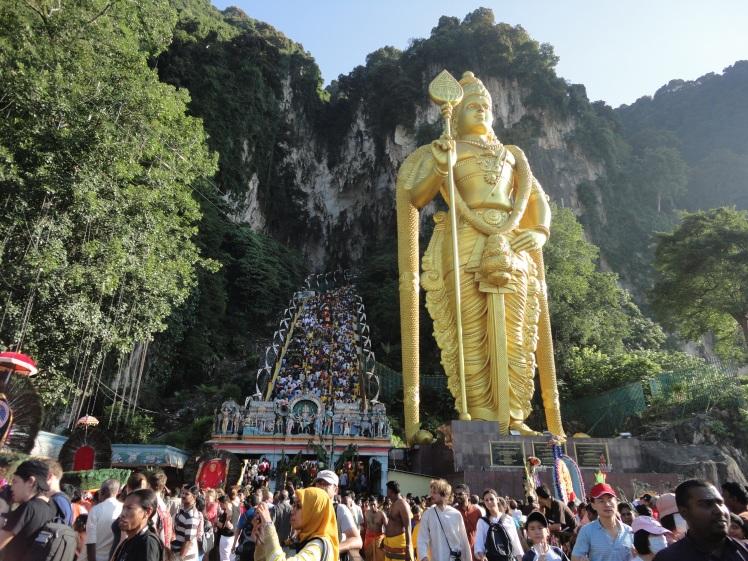 Patung Murugan, merupakan patung yang tertinggi di Dunia
